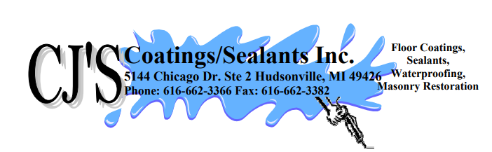 CJ's Coatings/Sealants Inc. logo